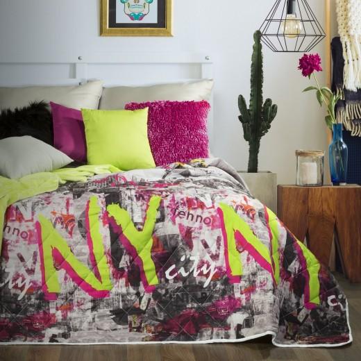 Cuvertura pat copii Empire Multicolour, 170 x 210 cm