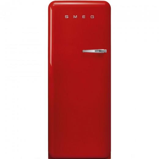 Congelator cu deschidere stanga CVB20LR1, Rosu, 60 cm, Retro 50, SMEG