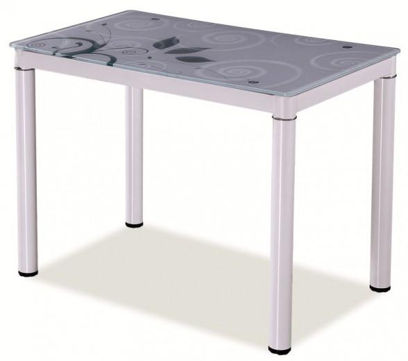 Masa Damar White, L80xl60xh75 cm