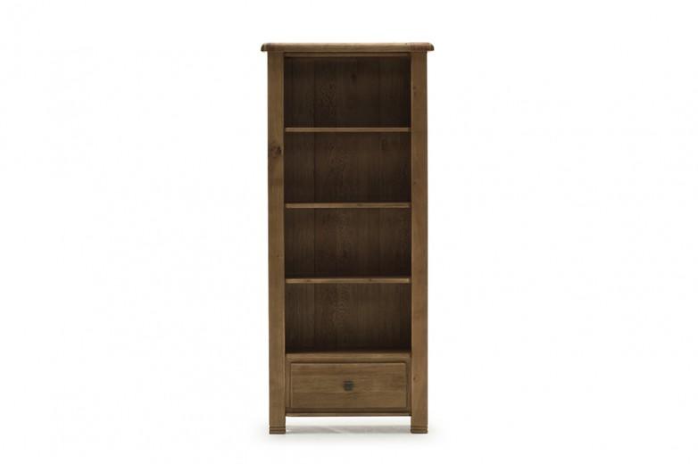 Biblioteca din lemn de stejar Danube Oak, l80xA36xH182 cm