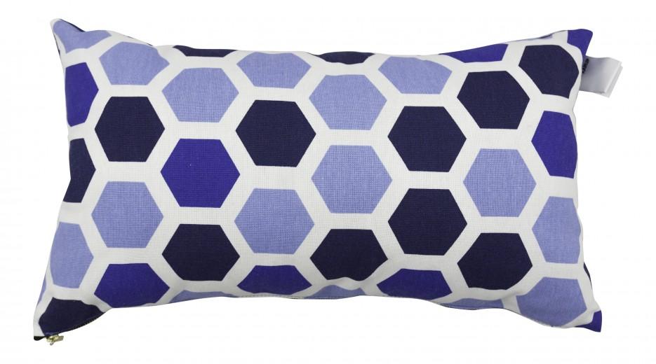 Set 2 perne decorative Deco Ocean Geometry / Navy