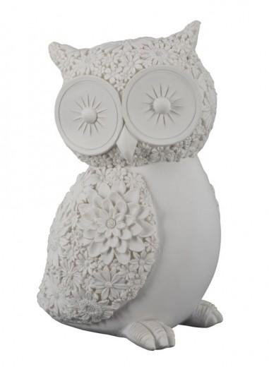 """Decoratiune """"Big Owl"""", H 13 cm"""