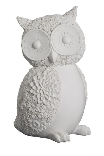 Decoratiune Big Owl, H 17 cm
