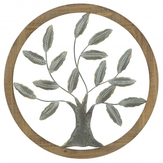 Decoratiune de perete Life Tree II, Ø 59  cm