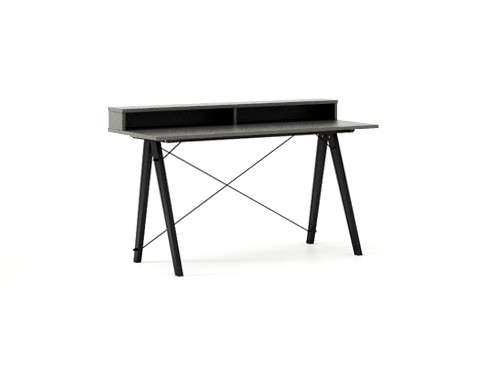 Masa de birou Desk Slim Black Grey II, L120xl50xh85 cm