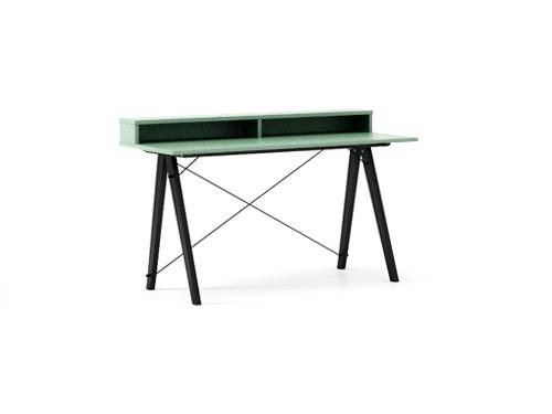 Masa de birou Desk Slim Black Mint II, L120xl50xh85 cm