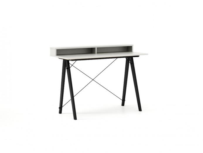Masa de birou Desk Slim Black White II, L120xl50xh85 cm