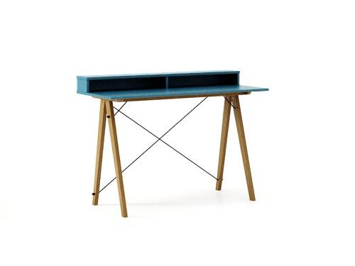 Masa de birou Desk Slim Oak Oceanic II, L120xl50xh85 cm