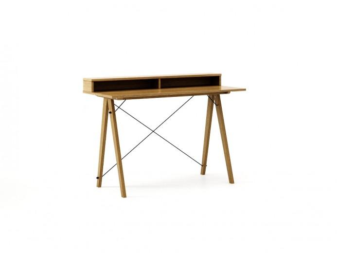 Masa de birou Desk Slim Oak II, L120xl50xh85 cm