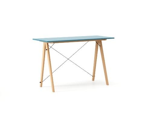 Masa de birou Desk Slim Beech Oceanic, L120xl50xh75 cm