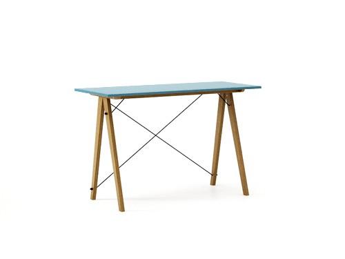 Masa de birou Desk Slim Oak Oceanic, L120xl50xh75 cm