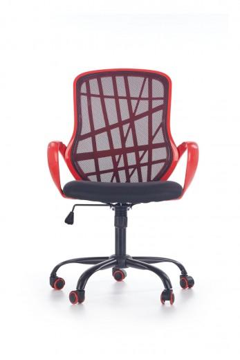 Scaun de birou ergonomic Dessert Red / Black, l62xA61xH95-105 cm