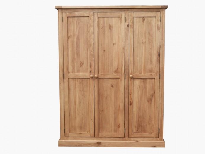 Dulap cu 3 usi din lemn de pin Devon