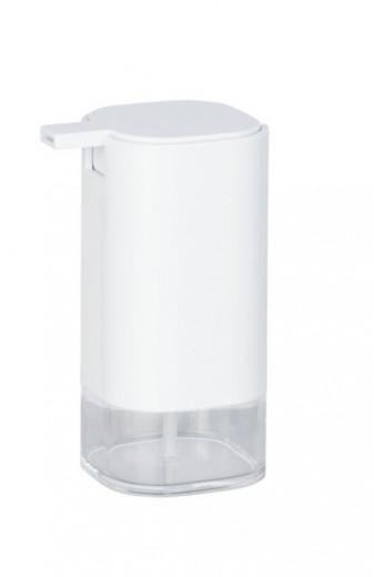 Dozator pentru sapun, din acril, Oria Alb, L7,5xl9,5xH16 cm