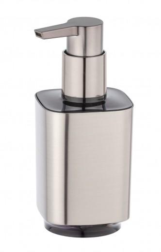 Dozator pentru sapun, din plastic, Auron Crom, L7xl8xH16,5 cm