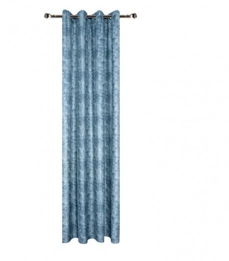 Draperie Home RM-TEY2339-72, Blue 140 x 270 cm, 1 bucata