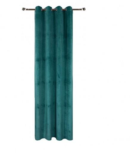 Draperie Home Velvet RM-C49-30, Petrol 140 x 270 cm, 1 bucata