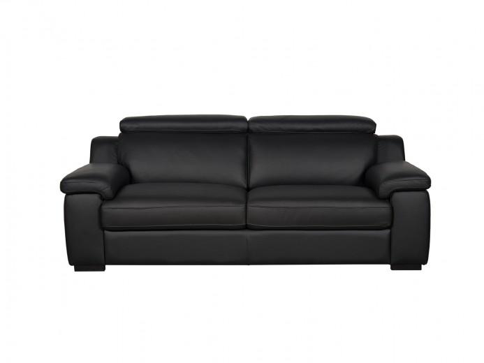 Canapea fixa 2 locuri Napoli Black