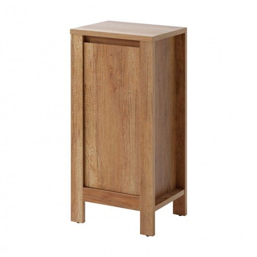 Dulap baie cu 1 usa, Classic Oak, l40xA35xH85 cm