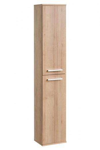 Dulap baie inalt 2 usi Remik Riviera Oak, l35xA25xH160 cm