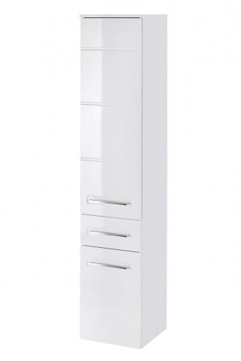 Dulap baie inalt 2 usi si 1 sertar, Active, l35xA33xH170 cm