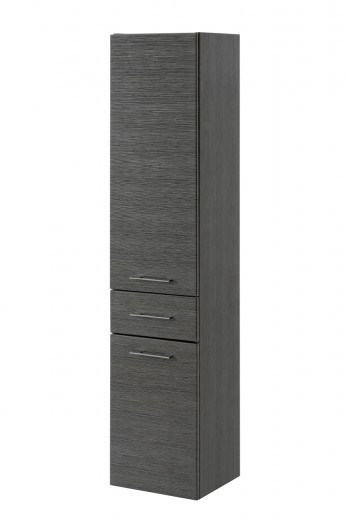 Dulap baie inalt, 2 usi si 1 sertar, Viento, l35xA33xH158 cm