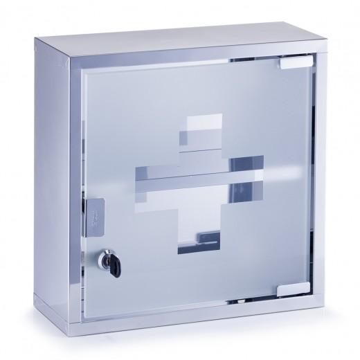 Dulap pentru medicamente, Otel inoxidabil, l30xA12xH30 cm