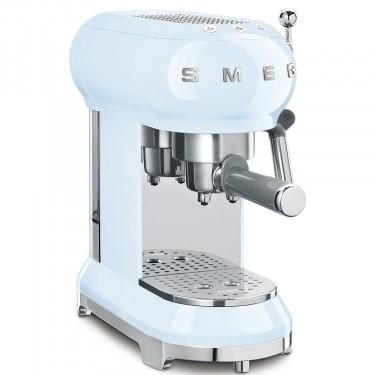 Espressor Cafea ECF01PBEU, Albastru Pastel, Retro 50, SMEG