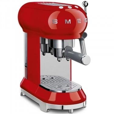Espressor Cafea ECF01RDEU, Rosu, Retro 50, SMEG