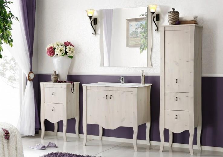 Set Mobilier pentru baie, 5 piese, Elisabeth XL