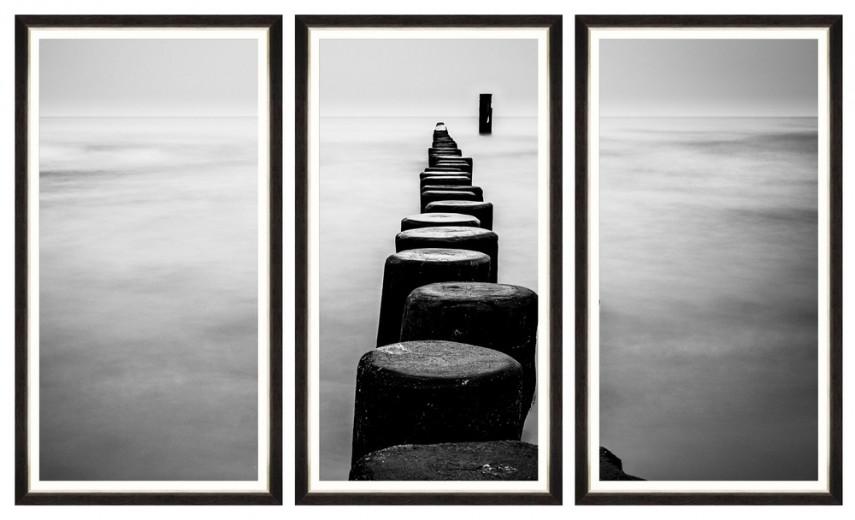 Tablou 3 piese Framed Art Endless Path