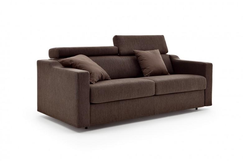 Canapea extensibila 3 locuri tapitata cu stofa Eros, l191xA97xH81 cm