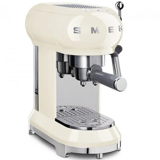 Espressor Cafea ECF01CREU, Crem, Retro 50, SMEG