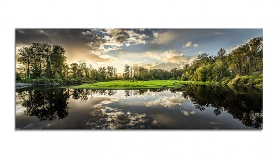 Tablou Sticla Glasspik Nature, 50x125 cm-50 x 125 cm