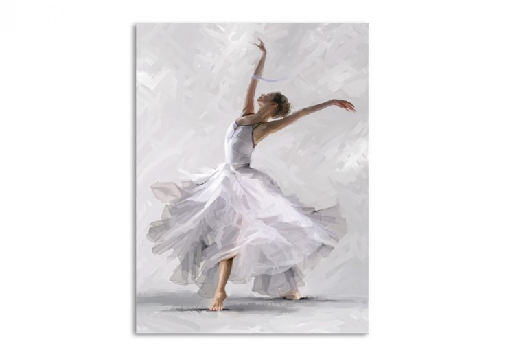 Tablou Canvas Waterdance Dancer II, 60x80 cm