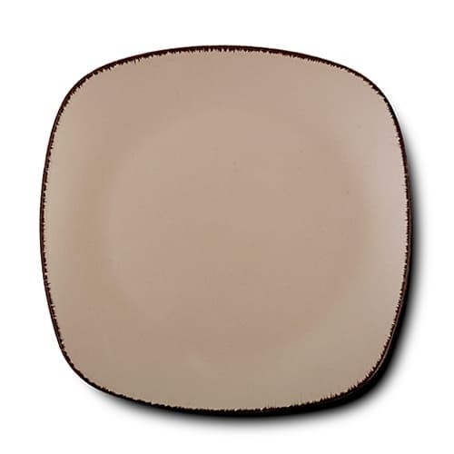 Farfurie intinsa din ceramica, Brown Sugar Maro, 26 cm