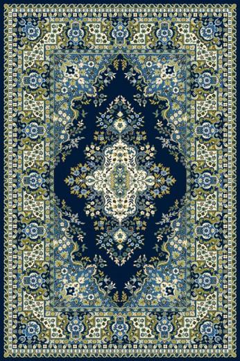 Covor Fatima S Navy Blue, Wilton