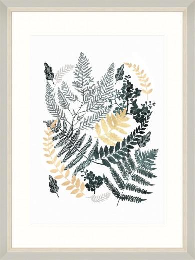 Tablou Framed Art Fern Composition I