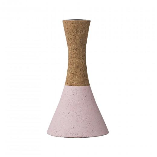 Suport lumanare, Nude, Ø7xH15 cm