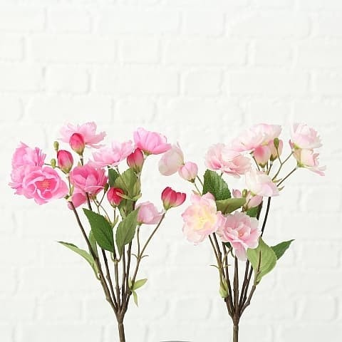 Fir floare artificiala Flat Pea Fucsia / Roz, Modele Asortate, H30 cm