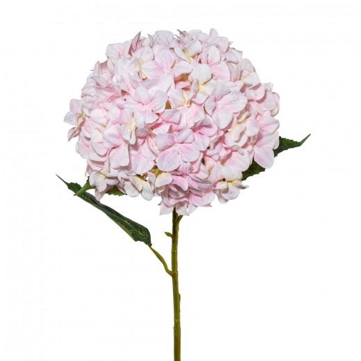 Fir floare artificiala, Hydrangea XXL Roz deschis, H111 cm