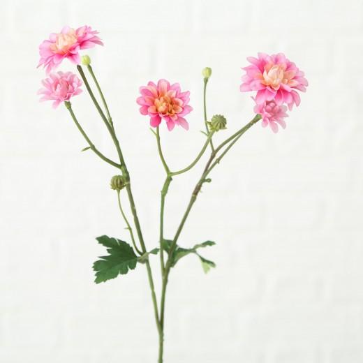 Fir floare artificiala Korbblutler Roz / Verde, H48 cm