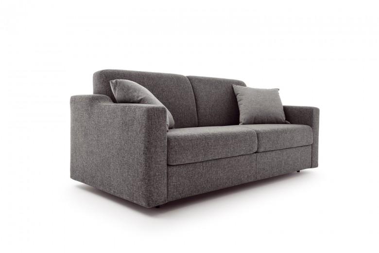 Canapea extensibila 3 locuri tapitata cu stofa Flipper, l211xA96xH85 cm