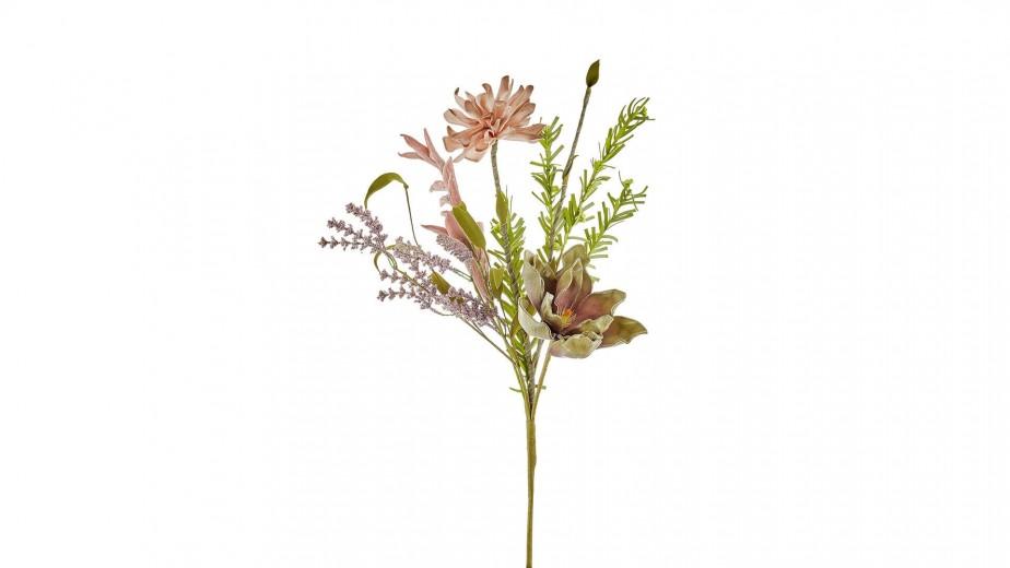 Floare artificiala Diamond Multicolor, H30 cm