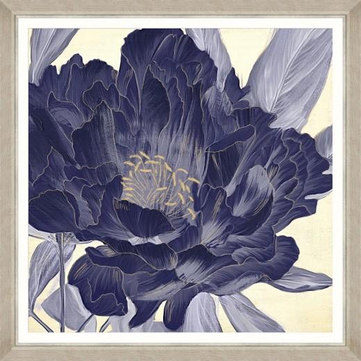 Tablou Framed Art Floral Indigo IV