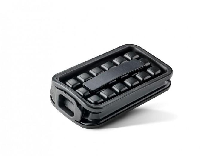 Forma din silicon pentru cuburi de gheata Icemaker 10985 Negru, L21xl11,8xH5,5 cm, Villa Collection