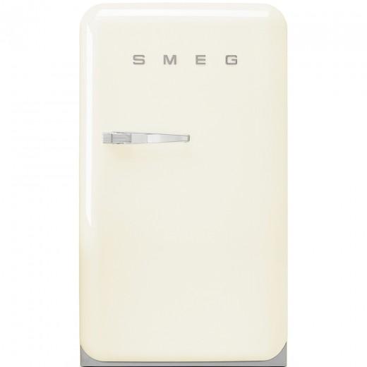 Frigider cu o usa deschidere dreapta FAB10RP, Crem, 55 cm, Retro 50, SMEG