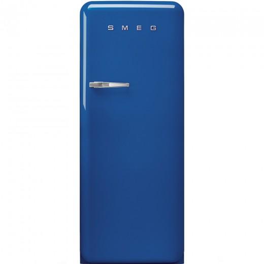 Frigider cu o usa deschidere dreapta FAB28RBL1, Albastru, 60 cm, Retro 50, SMEG