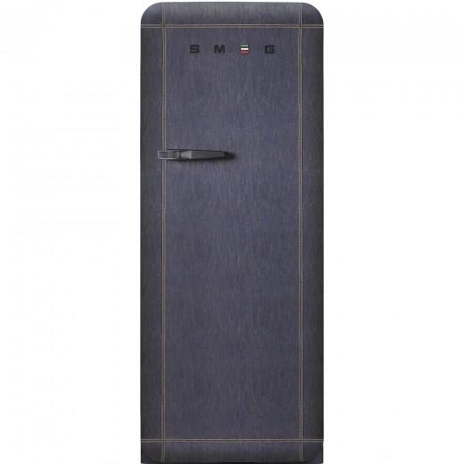 Frigider cu o usa deschidere dreapta FAB28RDB, Denim, 60 cm, Retro 50, SMEG
