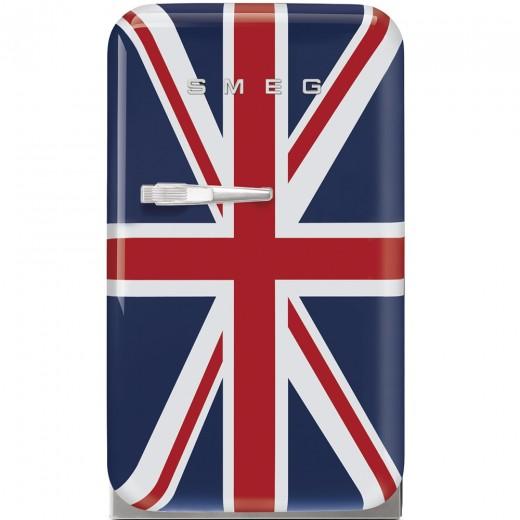 Frigider minibar FAB5RUJ2, Union Jack, 40 cm, Retro 50, SMEG